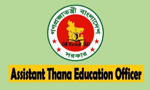 Assistant Thana Education Officer (ATEO) Job Circular 2015