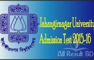 Jahangirnagar University Admission Test Notice 2015-16