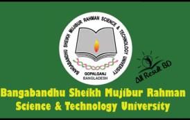 Bangabandhu Sheikh Mujibur Rahman Science & Technology University Admission Circular 2016-17