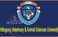 Chittagong Veterinary & Animal Sciences University Admission Result Notice 2016-17