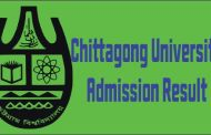 Chittagong University Admission Test Result 2016-17