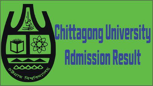 Chittagong University Admission Test Result 2016-17
