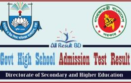 Govt School Admission Test Result 2016 gsa.teletalk.com.bd