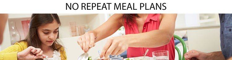 NO-REPEAT-MEAL-PLANS