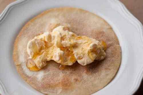 Fried Ice Cream Taco from AllSheCooks.com