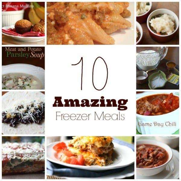Amazing Freezer Meals