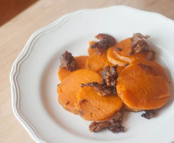Ginger Fried Sweet Potatoes