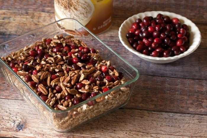 Cranberry Pecan Baked Oatmeal #breakfast #MyPicknSave #CollectiveBias #shop