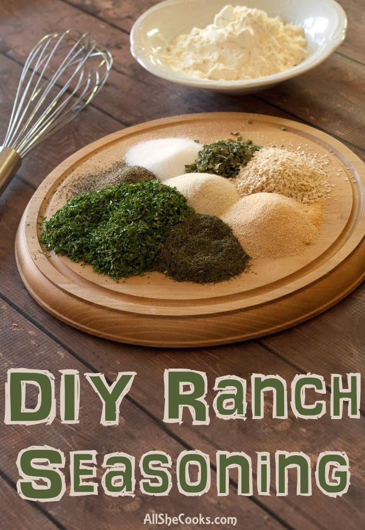 DIY Ranch Seasoning