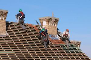 Image of an Allen TX roofing company