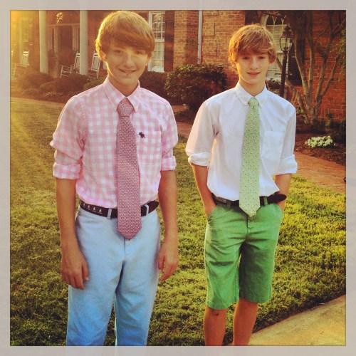 Preppy Twins