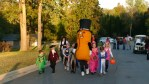 Pic 19 Did you think I was lying when I said Mr Peanut shows up on my street and trick or treats?   The kids walking behind have peanut allergies.