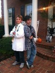 Pic 15 Doogie Howser MD and Vinnie and 2 cans of black hairspray