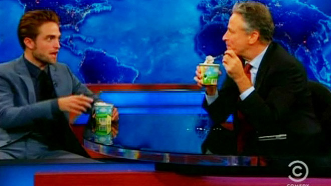 pattinson-jon-stewart-daily-show-ice-cream-660-1