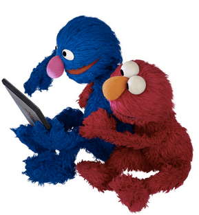 Elmo grover reading