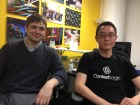 Wish co-founders Peter Szulczewski and Danny Zhang