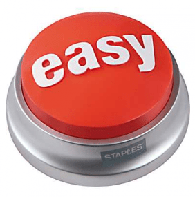Staples Easy Button big
