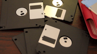 Pile of Floppies Pic