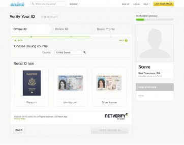 Airbnb Verified ID - Web Flow Offline ID Verification