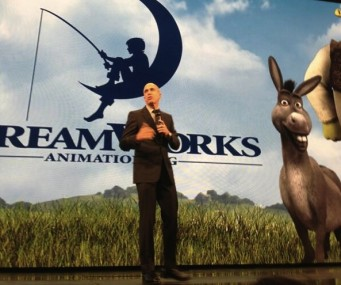 dreamworks awesomenessTV youtube brandcast jeffrey katzenberg