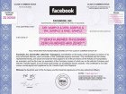 Facebook stock cert