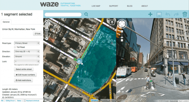 Waze adds Google