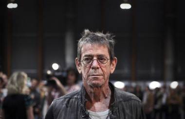 US singer and composer, Lou Reed attends