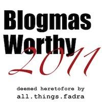 Blogmas Worthy