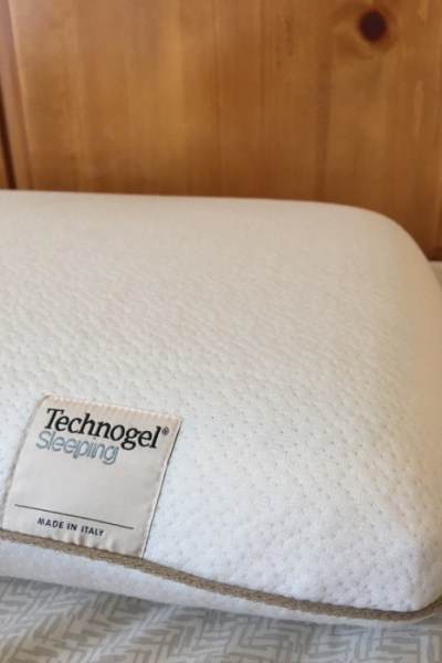 Now I Lay Me Down to Sleep on this Technogel Sleeping Pillow