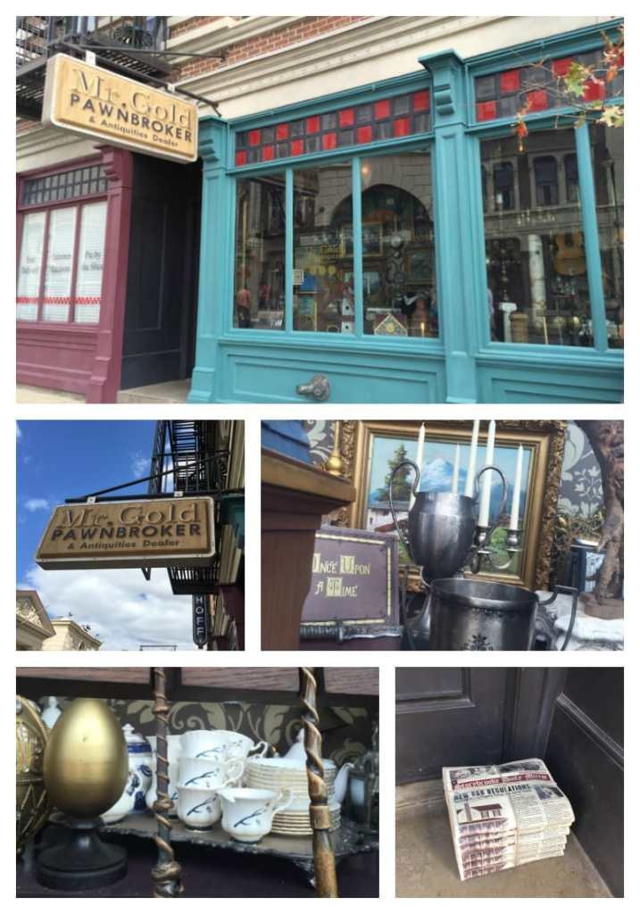 Mr. Gold Pawnbroker at Hollywood Studios