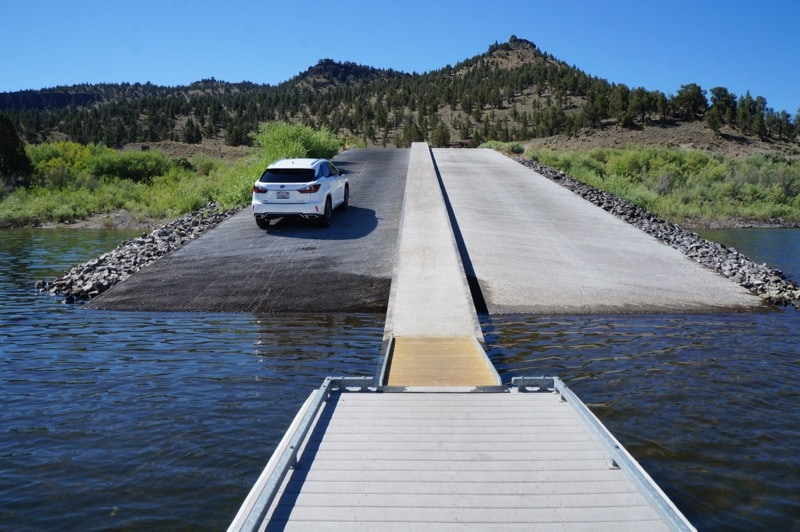 Onroading and offroading the lexus adventure in bend for Prineville reservoir fishing