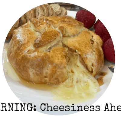 Make-It-Your-Own Baked Brie with Crescent Rolls
