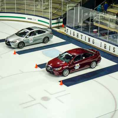 What's a Nice Girl Like Me Doing Driving in an Ice Rink Like This?