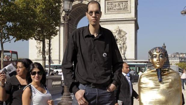 Brahim Takioullah - Second Tallest Living People