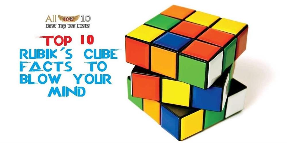 Top 10 Rubik's Cube Facts to blow your mind