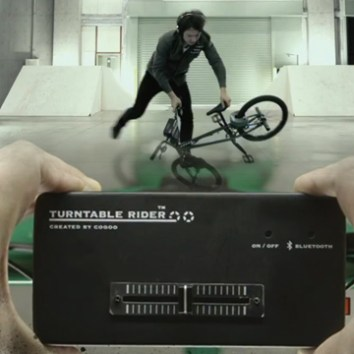 Turntable Rider by CoGoo