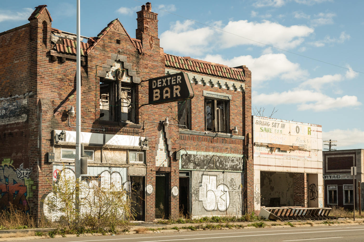 Buildings on Dexter Avenue, Detroit