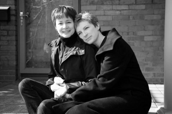 Ann-Marie MacDonald and Alisa Palmer