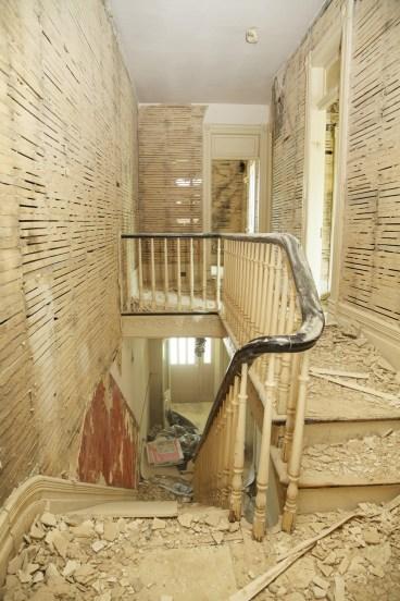 Victorian home under renovation.  (c) Allyson Scott