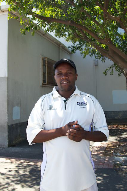 Tour guide Gladstone in Langa Township, South Africa  (c) Allyson Scott