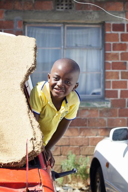 Boy in Langa Township, South Africa  (c) Allyson Scott