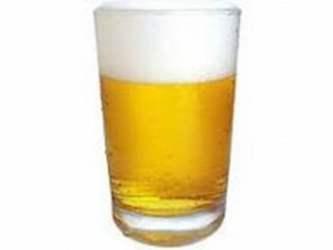 AAA. Cerveza. caña