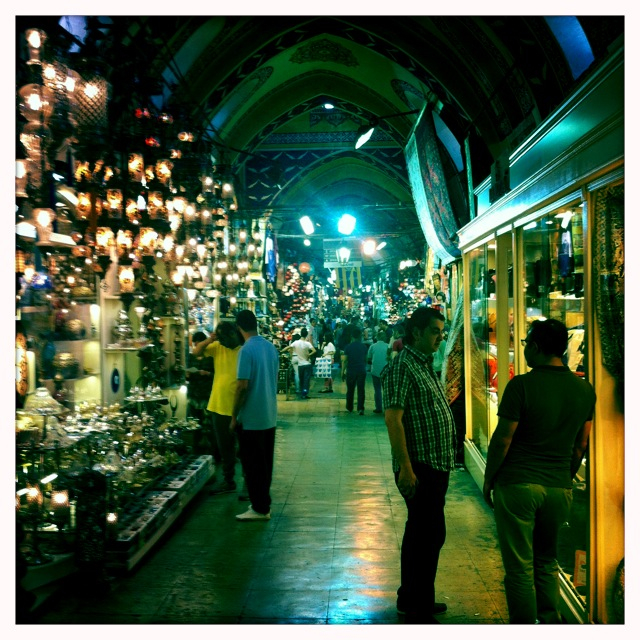 The Grand Bazaar in Istanbul.