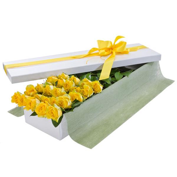 Caja de rosas 24 und