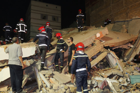 مصرع طفل وإصابة آخر بكسور نتيجة انهيار منزل بسلا