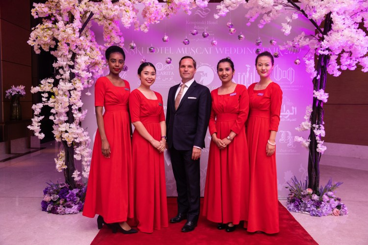 Kempinski Hotel Muscat_Wedding Fair
