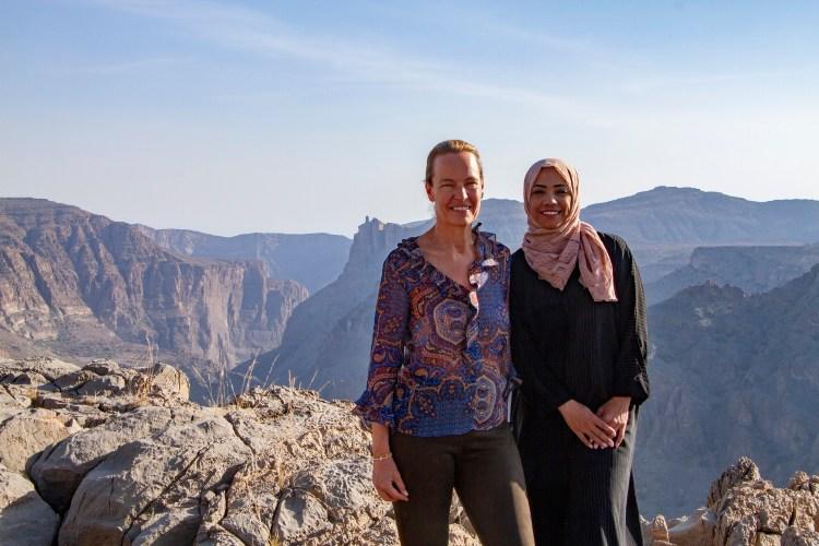 AAJA - Dagmar Symes, GM and Nadhira Al Harthy