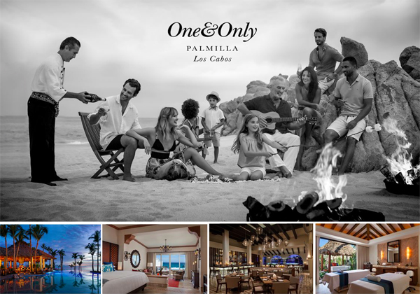 alma vallejo makeup at one & only palmilla campaign photoshoot