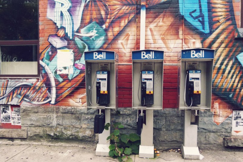 Bell Phoneboxes Canada