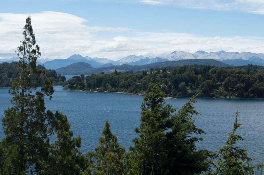 Probably one of the most beautiful places we've ever visited.  Biking along the circuit is a great way to appreciate some of these panoramic views near Bariloche.